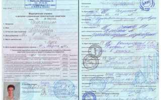 Медкомиссия на водительские права — как получить справку? ПДДюрист