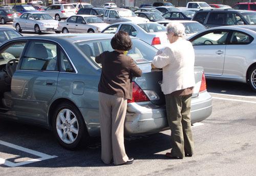 Что делать, если кто-то поцарапал машину во дворе? ПДДюрист
