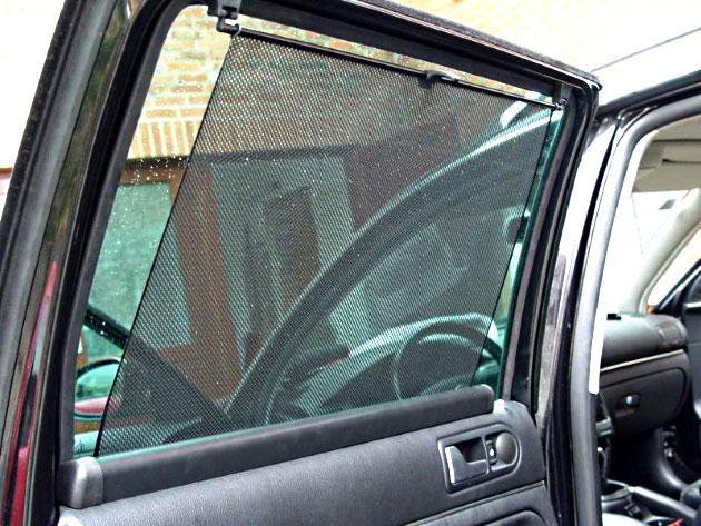 Можно ли вешать автошторки на боковые стекла? ПДДюрист