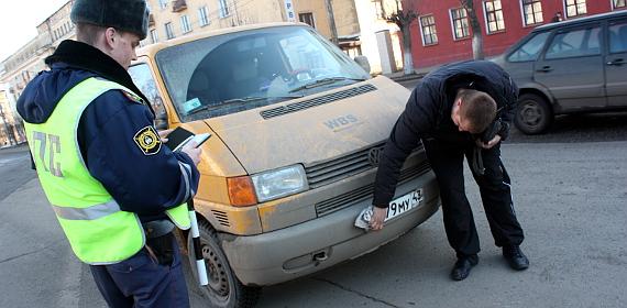 Штраф за грязные и нечитаемые номера - как избежать наказания? ПДДюрист